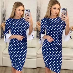 Платье короткое облегающее Ч0435