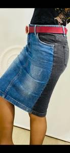 Юбка джинсовая А03706
