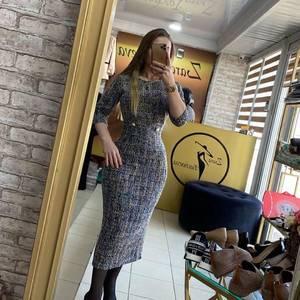 Платье длинное нарядное А15361