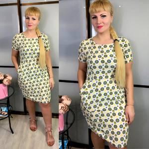 Платье короткое летнее Ц3826