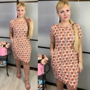 Платье короткое летнее Ц3827