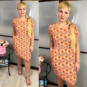 Платье короткое летнее Ц3828