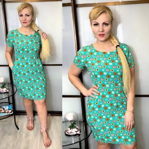 Платье короткое летнее Ц3829