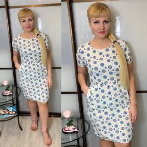 Платье короткое летнее Ц3830