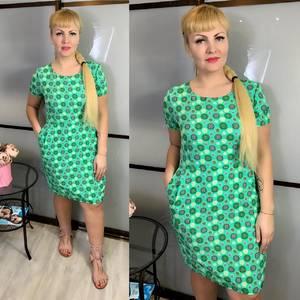 Платье короткое летнее Ц3832