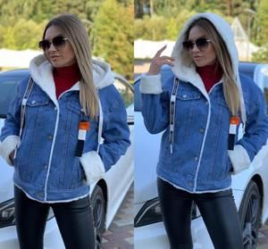 Джинсовая куртка А11167