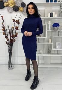 Платье короткое с длинным рукавом А57035