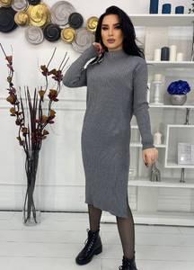Платье короткое с длинным рукавом А57036