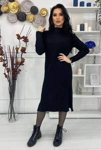 Платье короткое с длинным рукавом А57038