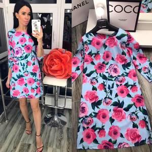 Платье короткое нарядное Я5199
