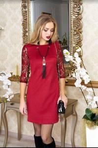 Платье короткое нарядное А37995
