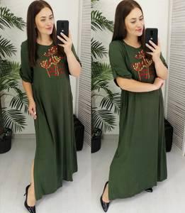 Платье длинное летнее Ч3861