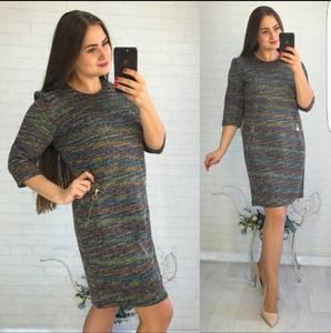 Платье короткое повседневное Ш0732