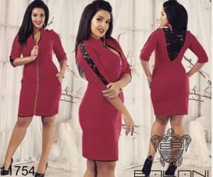 Платье короткое облегающее Ч1081