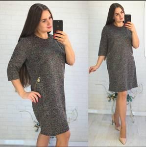 Платье короткое повседневное Ш0733