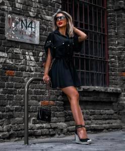 Платье короткое современное Ч4149