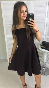 Платье короткое современное Ч4071