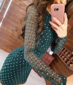 Платье короткое облегающее Я4752