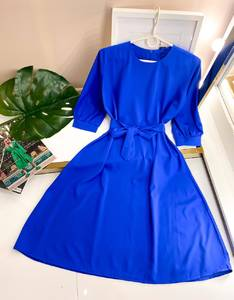 Платье короткое однотонное А50102