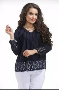 Блуза с кружевом Ц9405