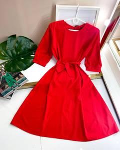 Платье короткое однотонное А50103