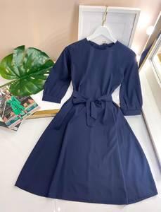 Платье короткое однотонное А50104