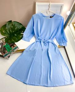 Платье короткое однотонное А50105