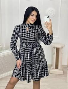 Платье короткое современное А57423