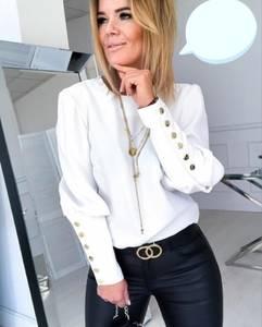 Блуза с длинным рукавом Ю0730