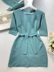 Платье короткое однотонное А50107