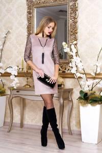 Платье короткое нарядное А37996