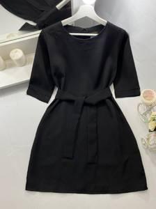 Платье короткое однотонное А50108