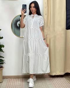 Платье длинное летнее А48063