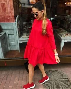 Платье короткое современное Ч3775