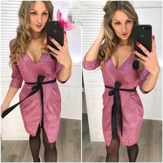 Платье короткое нарядное Ш7085