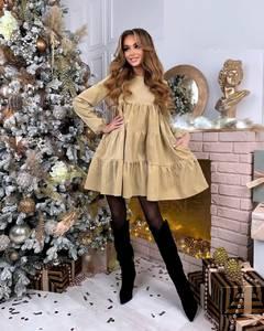 Платье короткое современное А57403
