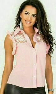 Рубашка с коротким рукавом Ш9020