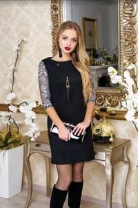 Платье короткое нарядное А37997
