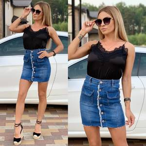Юбка джинсовая Ц8615