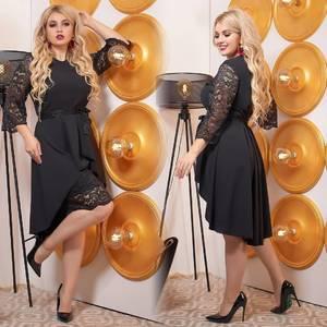 Платье короткое нарядное Ш9044