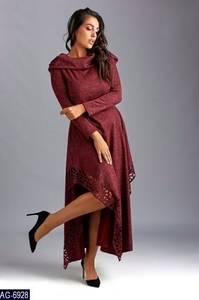 Платье длинное с длинными рукавами Ш9046