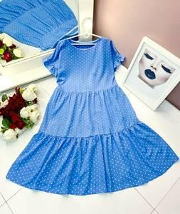 Платье длинное летнее А50111