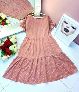 Платье длинное летнее А50110