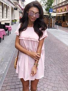 Платье короткое современное Ч4140