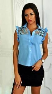 Рубашка с коротким рукавом Ш9021