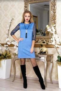 Платье короткое нарядное А37999