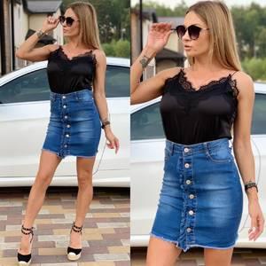 Юбка джинсовая Ц8617
