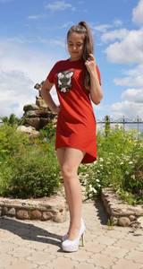 Платье короткое летнее Ч3276