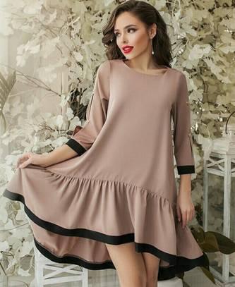 Платье короткое современное А39110