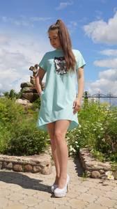 Платье короткое летнее Ч3277